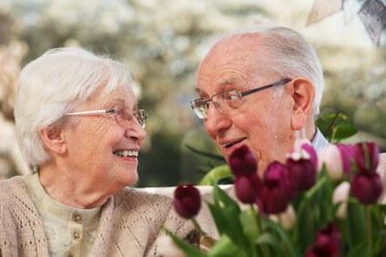 Ältere pflegebedürftige Menschen
