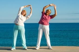 Fitness alte Menschen