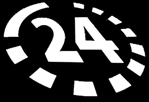 Nonstoppflege Logo weiß